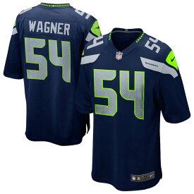 NFL ボビー・ワグナー シーホークス ユニフォーム/ジャージ Game Jersey ナイキ/Nike ネイビー
