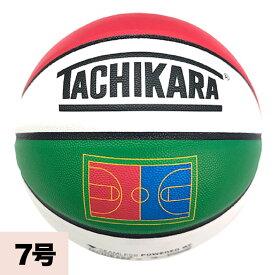 TACHIKARA WORLD COURT バスケットボール TACHIKARA ホワイト/ブルー/イエロー/グリーン/レッド/ブラック BSKTBLL特集