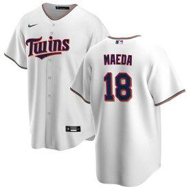 MLB 前田健太 ミネソタ・ツインズ ユニフォーム/ジャージ 2020 レプリカ ナイキ/Nike ホワイト