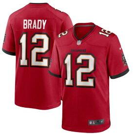 NFL トム・ブレイディ バッカニアーズ ユニフォーム/ジャージ ゲーム ナイキ/Nike レッド