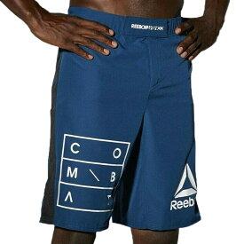 UFC ショーツ リーボック Reebok ショーツ ショートパンツ ブルー 青 RNF MMA Shorts Black