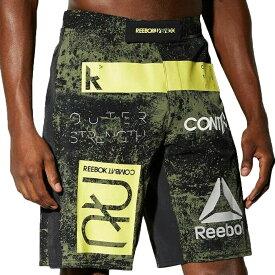UFC ショーツ リーボック Reebok ショーツ ショートパンツ グリーン RNF MMA Hero Shorts