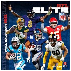 カレンダー NFL 2021年版 エリートプレーヤー 壁掛け ポスターインテリア Turner クリスマスギフト