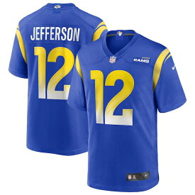 アル・ジェファーソン ユニフォーム/ジャージ NFL ラムズ 2020 NFL ドラフト1巡目指名 ナイキ/Nike ロイヤル