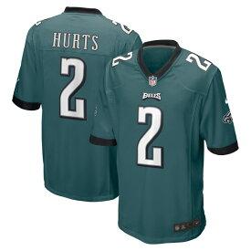 ジェイレン・ハーツ ユニフォーム/ジャージ NFL イーグルス 2020 NFL ドラフト1巡目指名 ナイキ/Nike ミッドナイトグリーン