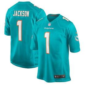 オースティン・ジャクソン ユニフォーム/ジャージ NFL ドルフィンズ 2020 NFL ドラフト1巡目指名 ナイキ/Nike アクア