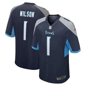 アイザイア・ウィルソン ユニフォーム/ジャージ NFL タイタンズ 2020 NFL ドラフト1巡目指名 ナイキ/Nike ネイビー