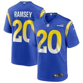 ジェイレン・ラムジー ユニフォーム/ジャージ NFL ラムズ ナイキ/Nike ロイヤル メンズ 半袖