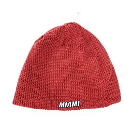 マイアミ・ヒート ニットキャップ ニット帽 NBA リバーシブル ビーニー アディダス Adidas ブラック