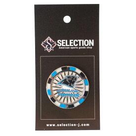 NFL グッズ ピンバッジ ピンズ パンサーズ Poker Chip Pin
