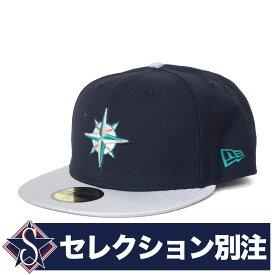 MLB マリナーズ キャップ クーパーズタウン 別注 59FIFTY Fitted Hat ニューエラ/New Era ネイビー