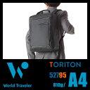 ★緊急開催中!楽天カードでP19倍★エース ワールドトラベラー トリトン ビジネスバッグ 3WAY メンズ 防水 ブリーフケース A4 Ace World Traveler Toriton 52795