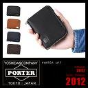 ポーター リフト ラウンドファスナー二つ折り財布 メンズ レディース PORTER LIFT WALLET 822-16107
