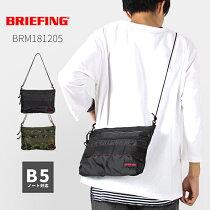 ブリーフィング/ソリッドライト/サコッシュ/brm181205