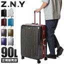 【楽天カード28倍|5/30限定】エース スーツケース Lサイズ 90L フレームタイプ 大容量 大型 軽量 Z.N.Y ACE 06382