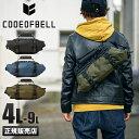 【楽天カードP17倍】コードオブベル ボディバッグ メンズ ブランド CODE OF BELL PEAK-X-PAK-ONE one-pea