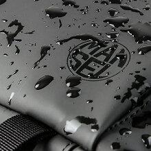 【楽天カード16倍|7/30限定】マンセルリュックメンズ小さめ防水薄型ビジネスリュックブラックブランドおしゃれMANSEL0001