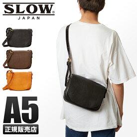 【楽天カード33倍(最大)|12/5限定】SLOW バッグ ショルダーバッグ メンズ 本革 斜めがけ かっこいい スロウ ボーノ bono 49s129gh