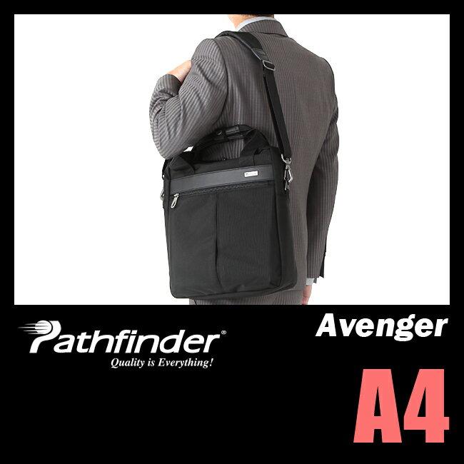 【まもなく終了!楽天カードでP14倍+4倍!4/25(水)23:59まで】パスファインダー アベンジャー ビジネスバッグ メンズ ショルダーバッグ A4 PATHFINDER AVENGER PF1814B