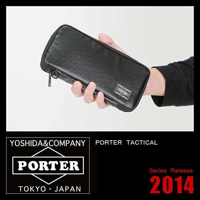 ★11/23(木)12:00〆ワンエントリーでP12倍!吉田カバン ポーター タクティカル 財布 長財布 ラウンドファスナー PORTER 654-07080