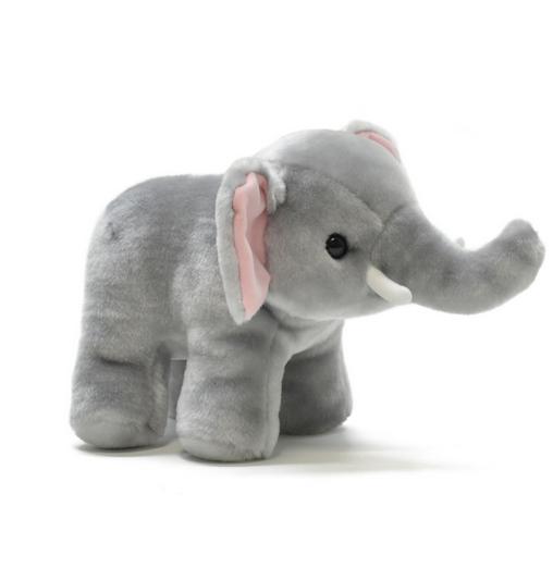 AQUA ぬいぐるみ [M] ゾウさん 00150182 (ゾウ、ぞう、人形、玩具、おもちゃ、ぬいぐるみ、キャラクターグッズ、プレゼントに最適)(楽天ランキング受賞・ぬいぐるみ ゾウ10位、2017/10/6デイリー) sp170502
