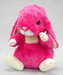 スターチャイルド ロップイヤーウサギ Mサイズ フューシャ【送料無料】 (うさぎ、兎、人形、玩具、おもちゃ、ぬいぐるみ、キャラクターグッズ、プレゼントに最適)