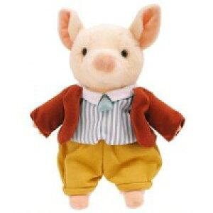 ≪吉徳のぬいぐるみ正規品≫PETER RABBIT (ピーターラビット) ぬいぐるみ こぶたのピグリン・ブランド S 182647【送料無料】(人形、玩具、おもちゃ、ぬいぐるみ、キャラクターグッズ、