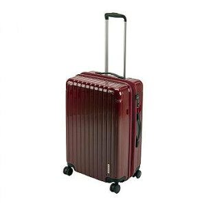 CAPTAIN STAG キャプテンスタッグ パルティール スーツケース TSAロック付きWFタイプ M ベリー UV-0074 【送料無料】(キャリーカート、キャリーバッグ、スーツケース、カバン、かばん、鞄、バッグ