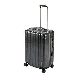CAPTAIN STAG キャプテンスタッグ パルティール スーツケース TSAロック付きWFタイプ M シルバー UV-0077 【送料無料】(キャリーカート、キャリーバッグ、スーツケース、カバン、かばん、鞄、バッ