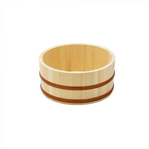 ヤマコー 天然木 湯桶(口厚) 12462 【送料無料】(風呂桶、お風呂グッズ、入浴グッズ、洗面器)