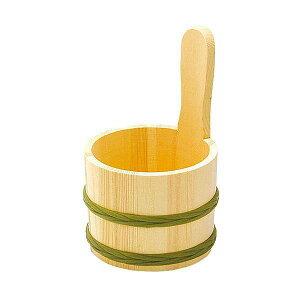 ヤマコー 天然木 片手湯桶 83828 【送料無料】(風呂桶、お風呂グッズ、入浴グッズ、洗面器)