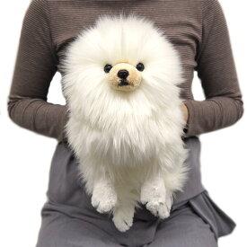 ひざわんこ ポメラニアンCR (P-6452-1) (犬、いぬ、イヌ、ぬいぐるみ、人形、玩具、おもちゃ、キャラクターグッズ、プレゼントに最適)