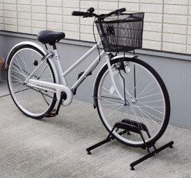 【アイリスオーヤマ】自転車スタンド1段  ブラック BYS-1   1台用【送料無料】 (自転車グッズ、防犯用品、エクステリア)(楽天ランキング受賞・自転車 アクセサリー・グッズ スタンド その他ランキング10位、2014/11/12デイリー )