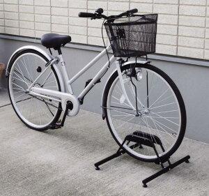 【アイリスオーヤマ】自転車スタンド1段  ブラック BYS-1   1台用【送料無料】 (自転車グッズ、防犯用品、エクステリア)(楽天ランキング受賞・自転車 アクセサリー・グッズ スタンド そ
