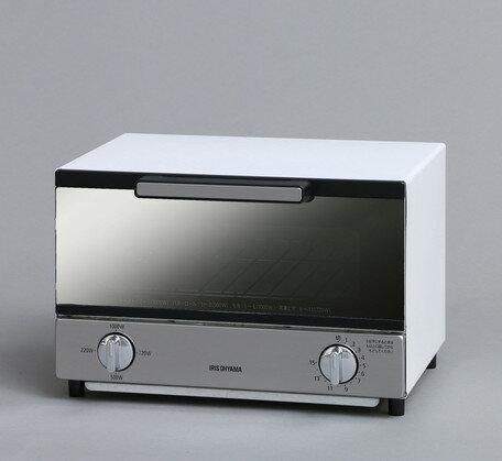 【調理・キッチン家電 トースター】ミラーオーブントースター 横型 MOT-011 横型 ホワイト(561970) 【送料無料】(調理器具、調理機器、キッチン家電、キッチン、パン焼き)