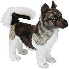 HANSA 秋田犬 6143【送料無料】(イヌ、いぬ、犬、ドッグ、人形、置物、オブジェ、ぬいぐるみ、キャラクターグッズ)