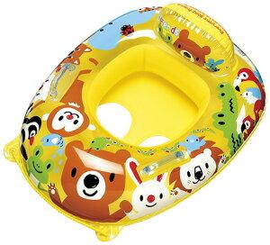 【在庫】ベビーでもこれがあれば安心!座付浮輪☆ベビーボートハンドル付(フォレストアニマル) (MBU-160) 【送料無料】(プール、水遊び、海水浴、レジャー、浮き輪、浮輪、うきわ、