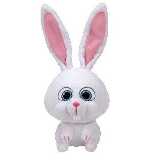【Ty】PETS スノーボール M ぬいぐるみ(41168) 【送料無料】(うさぎ、ウサギ、人形、玩具、おもちゃ、ぬいぐるみ、キャラクターグッズ、プレゼント)