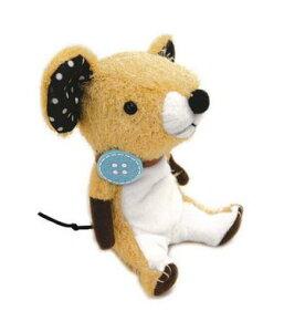 【■Original Soft Toy】 リコッタ ベージュ (10527)【送料無料】(ネズミ、ねずみ、人形、玩具、おもちゃ、ぬいぐるみ、キャラクターグッズ、プレゼントに最適)