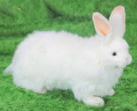 HANSA 雪ウサギ 4672【送料無料】(ウサギ、うさぎ、ラビット、人形、置物、オブジェ、ぬいぐるみ、キャラクターグッズ)