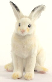 HANSA 白ウサギ 5842 【送料無料】(ウサギ、うさぎ、ラビット、人形、置物、オブジェ、ぬいぐるみ、キャラクターグッズ) sp180403