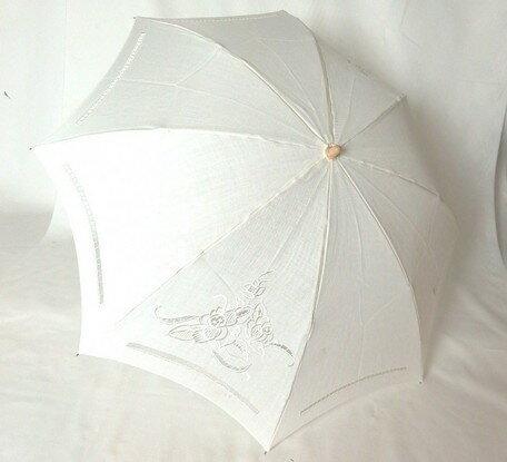 UVケアパラソル 麻ツイルスワトー(23-5006)【送料無料】 (アンブレラ、日傘、折りたたみ傘、折り畳み傘、折傘)