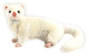 HANSA ホワイトフェレット 4839 【送料無料】(人形、置物、オブジェ、ぬいぐるみ、キャラクターグッズ)