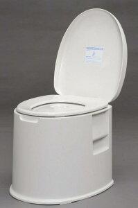 【アイリスオーヤマ】ポータブルトイレ (ホワイト) TP-420V 【送料無料】(簡易トイレ、防災グッズ、介護用品)