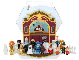 ムーミンフィギュア アドベントカレンダー2019 (MNX040020) (クリスマスカウントダウン、おもちゃ、カレンダー、インテリア、キャラクター)