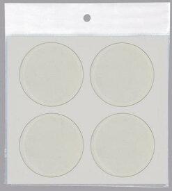 クリアークッション 丸型タイプ 直径30mm 4個入り1セット【送料無料】(家具滑り止め、床傷防止、ピットクッション)