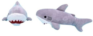 ホオジロザメグレー ST 702126(サメ、人形、玩具、おもちゃ、ぬいぐるみ、キャラクターグッズ)
