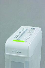 【アイリスオーヤマ】シュレッダー ホワイト P6HC 【送料無料】(シュレッダー、オフィス用品、事務用品、防犯グッズ)