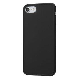 iPhone SE 第2世代 SE2 iPhone 8 7 ケース ハードケース 耐衝撃 マットハイブリッド Sarafit ブラック