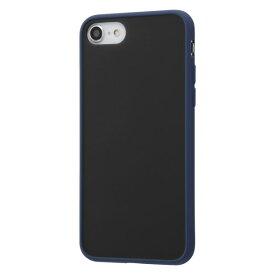 iPhone SE 第2世代 SE2 iPhone 8 7 ケース ハードケース 耐衝撃 マットハイブリッド Sarafit ダークネイビー